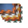 Модульное покрытие Rubblex Puzzle Standart 25 мм