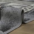 Дорожка ковровая Лайла де люкс 50005 (2,0 м) серый