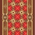 Остаток Дорожка ковровая принт Паркет 315 (0,8х2,37 м)