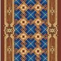 Дорожка ковровая принт Паркет 500 (0,8 м)
