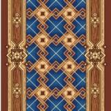 Остаток Дорожка ковровая принт Паркет 500 (1,5х1,62 м)