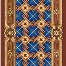 Дорожка ковровая принт Паркет 500 (1,2 м)
