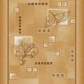Дорожка ковровая принт п43р1098с2 (1,1 м)